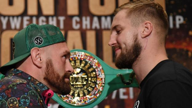 Fury v Wallin: Vegas to witness 'best Fury we have seen', says Steve Bunce