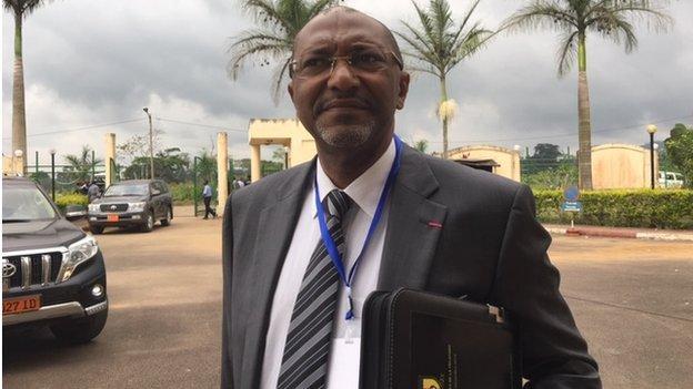 New Cameroon FA boss Seidou Mbombo Njoya vows 'transparency' - BBC Sport