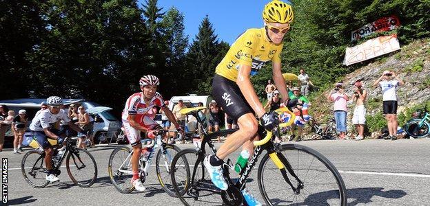 Chris Froome 2013 Tour de France