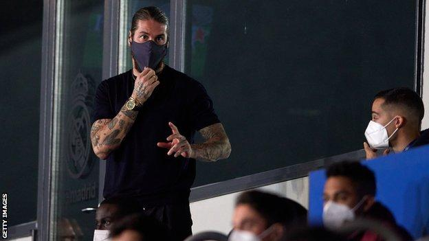 Chelsea v Real Madrid: Visitors boosted by Sergio Ramos return thumbnail