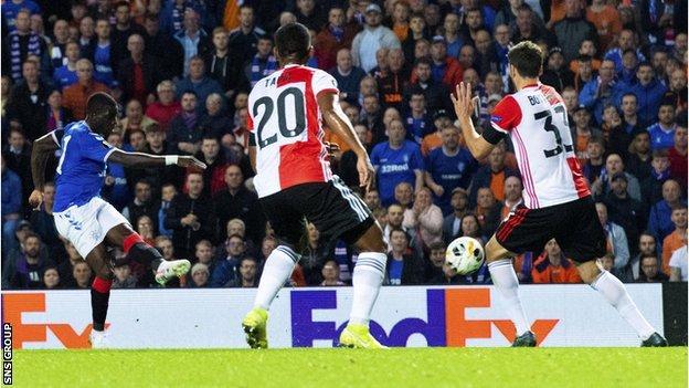 Ojo's stunning first-half strike gave Rangers a vital victory