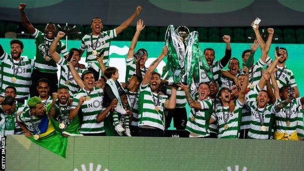 Sporting Lisbon Clinch First Primeira Liga In 2 Decades