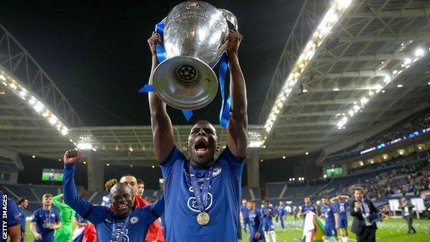 Zouma won the Champions League with Chelsea last season