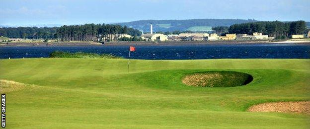 The 11th hole at St Andrews