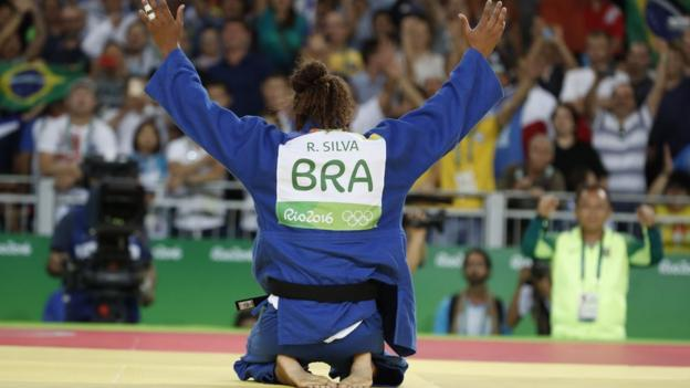 Silva after her win