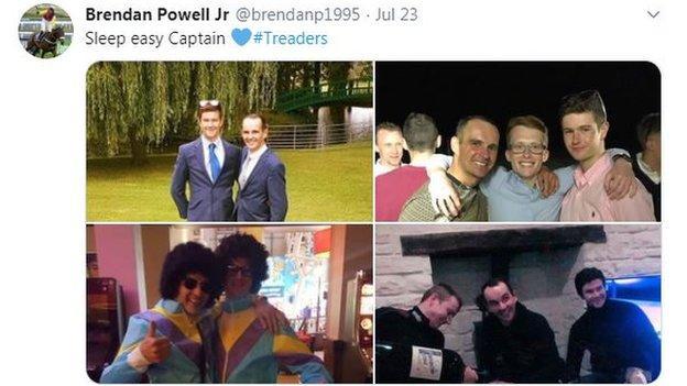 Jockey Brendan Powell on Twitter