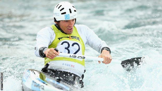 David Florence is eyeing two world titles at Lee Valley