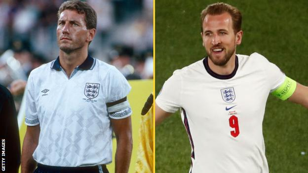 Terry Butcher and Harry Kane