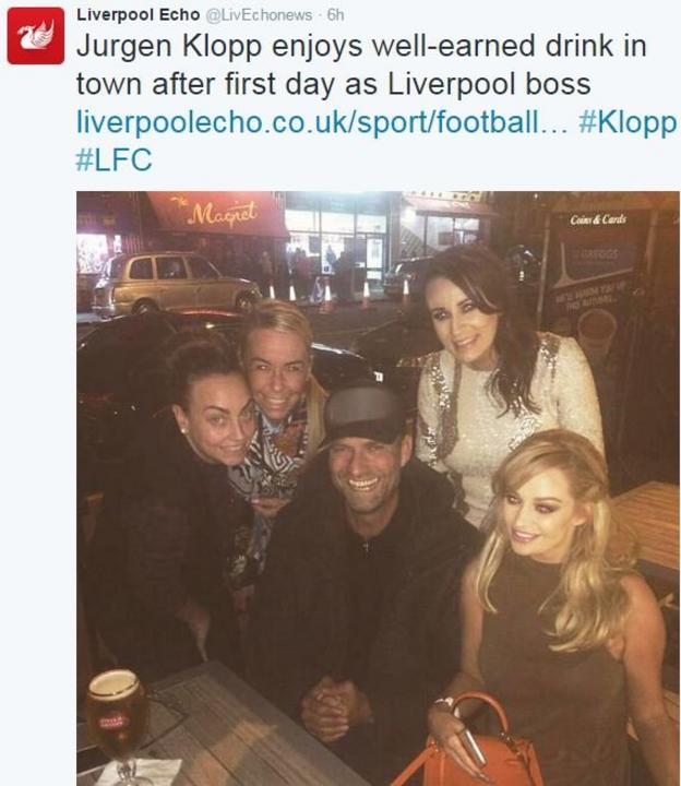 Liverpool Echo Twitter