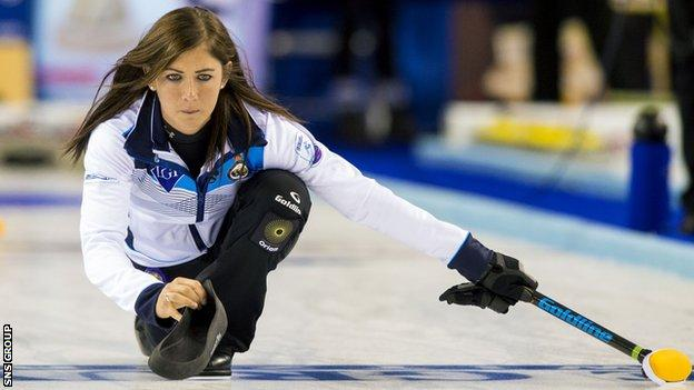 Eve Muirhead will skip Scotland at the European Championships in Sweden