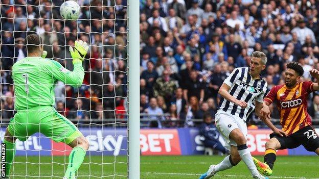 Steve Morison scores for Millwall