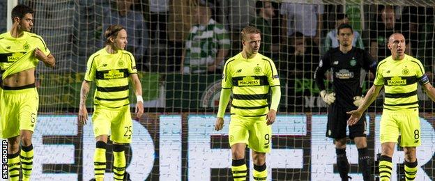 Celtic lost to Malmo in a Champions League play-off