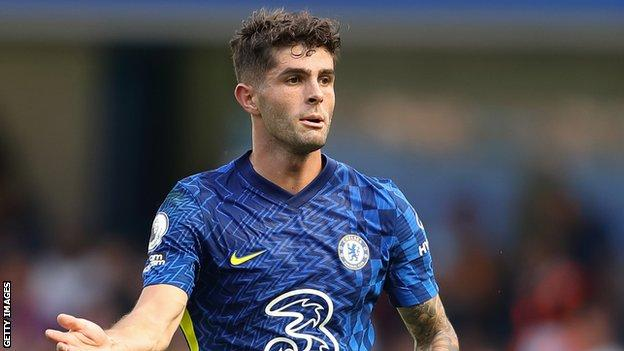 Chelsea's Christian Pulisic missed Sunday's win at Arsenal after testing positive
