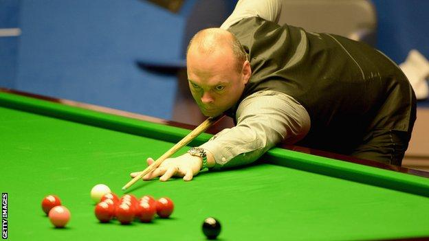 World champion Stuart Bingham