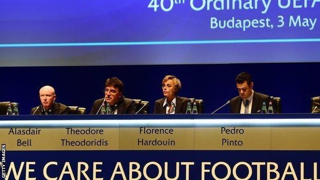 French Football Federation director general, Florence Hardouin
