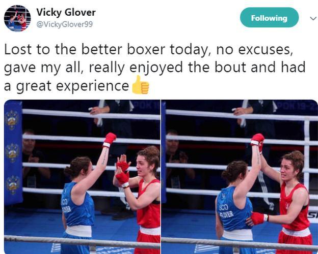 Vicky Glover tweet