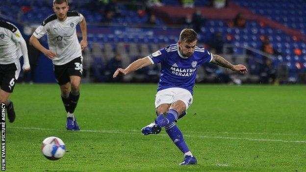 Joe Ralls scored his third goal in two games