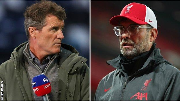 Roy Keane and Jurgen Klopp