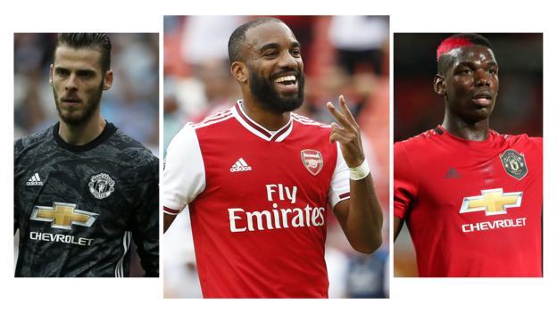 Man Utd v Arsenal: Pick your combined XI thumbnail