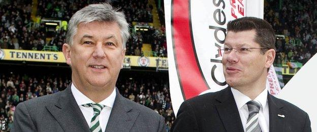Peter Lawwell and Neil Doncaster