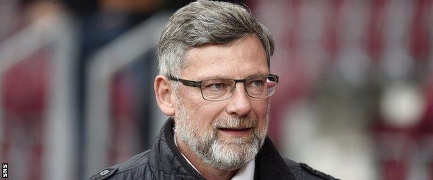 Hearts' director of football Craig Levein