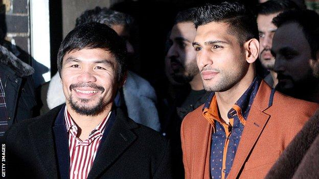 Pacquiao and Khan