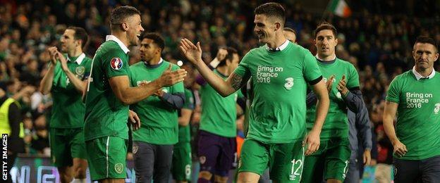The Irish are going to Euro 2016