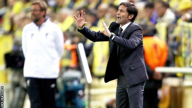 Marcelino Garcia Toral was boss of Villarreal when Liverpool beat them in the Europa League semi-final last season
