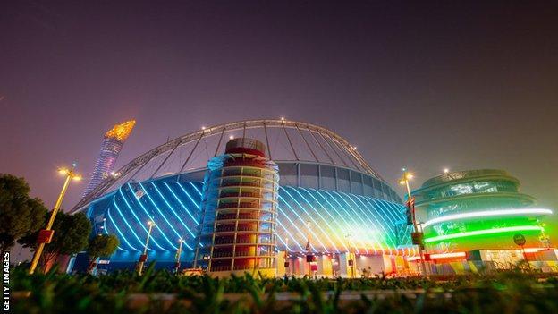 Khalifa Stadium in Qatar