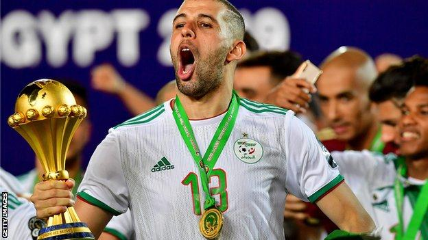 Algeria's Mehdi Zeffane