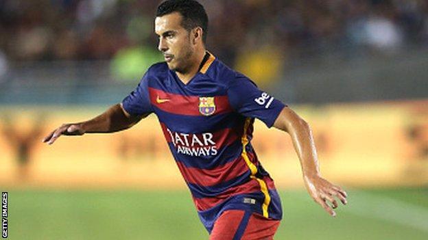 Barcelona's Pedro