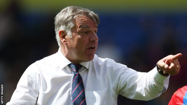 Allardyce says he has not spoken to Everton owner Farhad Moshiri about taking the manager job at Goodison