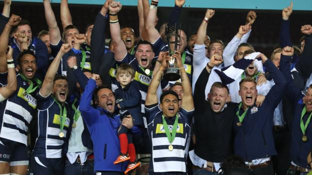 Premiership fixtures 2016 17 bristol face harlequins in twickenham opener bbc sport - English rugby union league tables ...