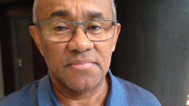 Ahmad Ahmad, is head of Madagascar's FA