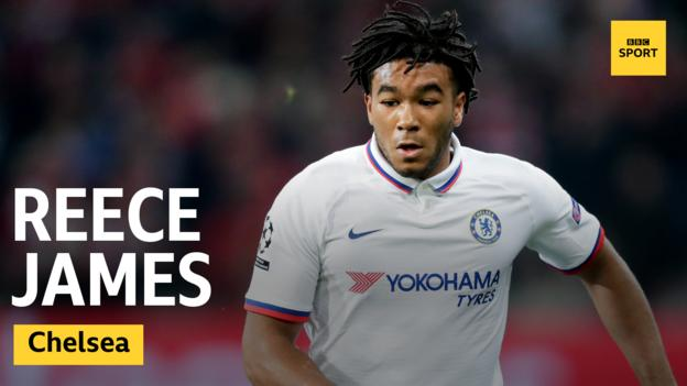 Chelsea defender Reece James