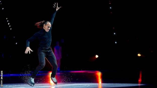 Elladj Balde: Former figure skater on improving diversity, and social media fame thumbnail