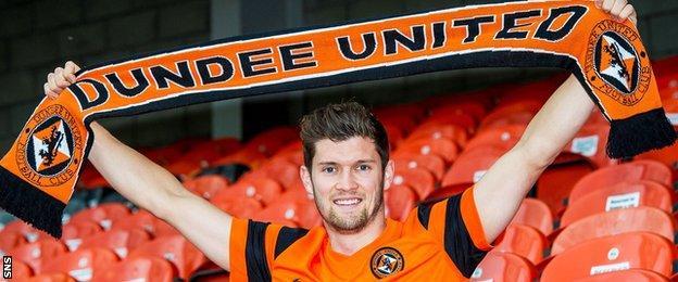 Dundee United midfielder Stewart Murdoch