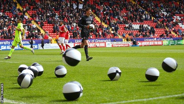 Charlton Athletic fans' protest