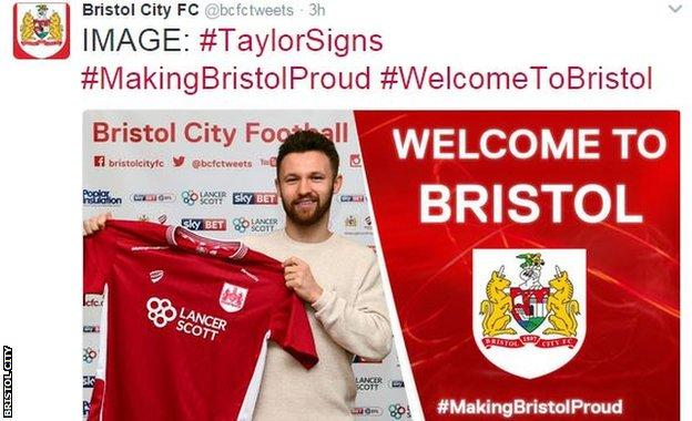 Bristol city tweet