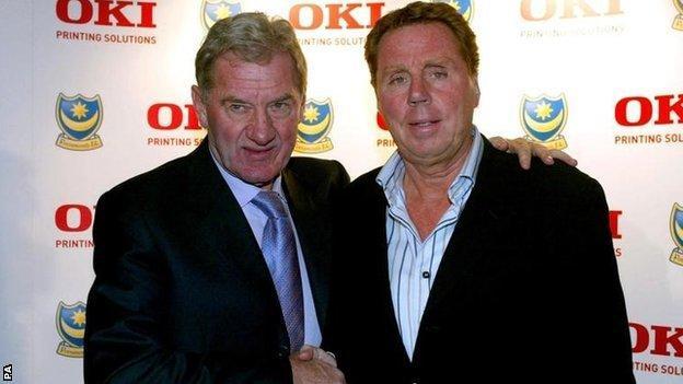 Milan Mandaric and Harry Redknapp