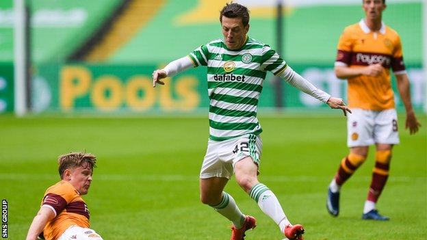 Even when Celtic were struggling in the first half, McGregor was the one who looked likely to create, and his surging run from his own half set up Forrest's opener