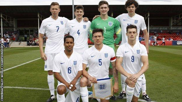 England lost 5-0 to a strong Russia side