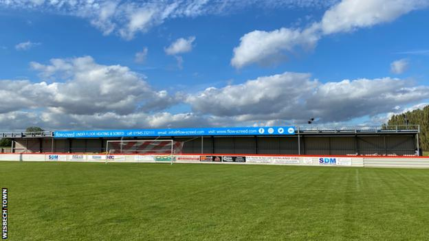 in_pictures Wisbech Town's Fenland Stadium