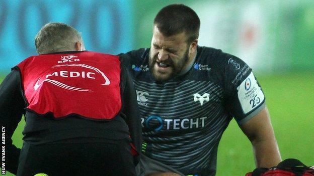 Gheorghe Gajion receives treatment