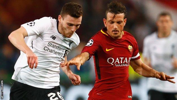 Andy Robertson and Alessandro Florenzi