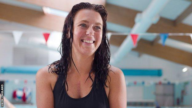 Maria Davey - how swimming helped overcome anxiety and depression
