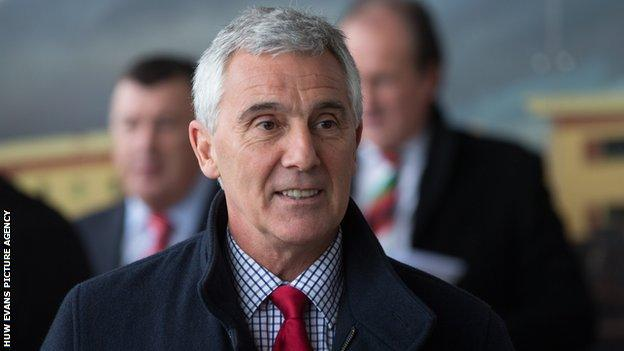 Gareth Davies, chairman of the Welsh Rugby Union