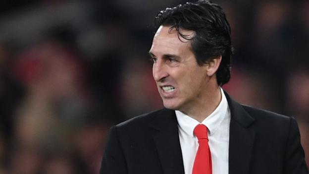 Unai Emery: Arsenal manager says his focus is only on their Europa League tie with Eintracht Frankfurt thumbnail