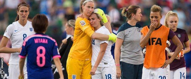 England lose to Japan in the Women's World Cup semi-final