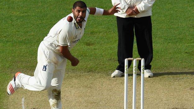 Warwickshire all-rounder Jeetan Patel
